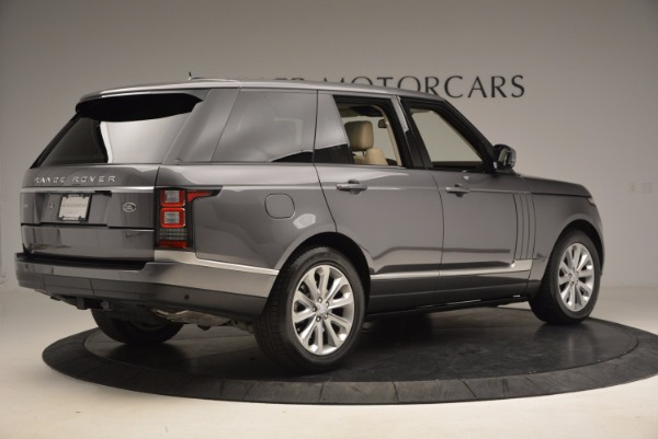 Used 2016 Land Rover Range Rover HSE TD6 for sale Sold at Pagani of Greenwich in Greenwich CT 06830 8